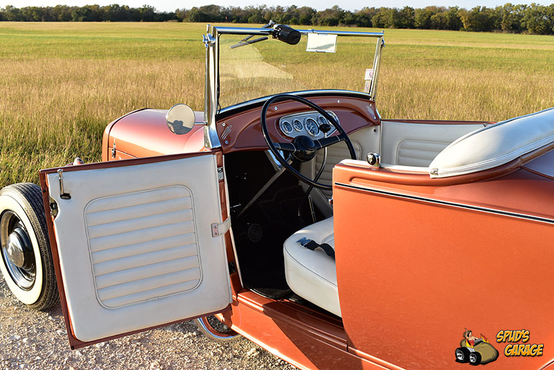 """1929 Ford Model A Roadster """"Lil Pages"""" 015e10"""