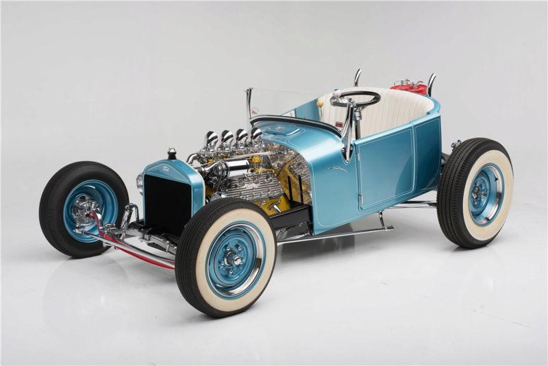 """1926 FORD MODEL T """"MOONSHINER"""" CUSTOM MICKEY HIMSL 126"""