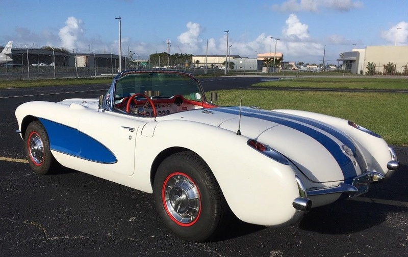 1957 Corvette race car & street car 1414