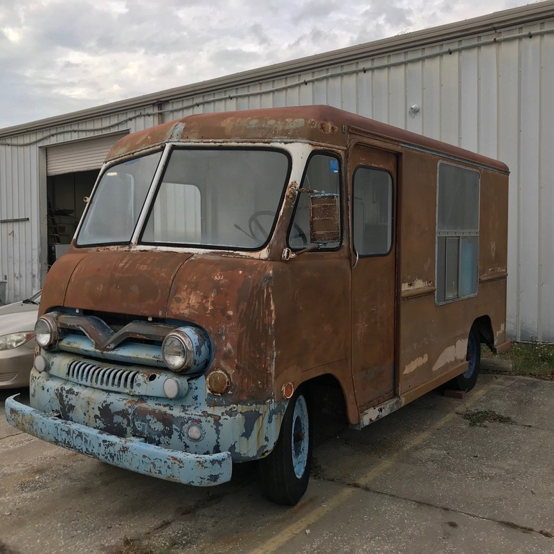 1958 Ford ice cream truck 1714
