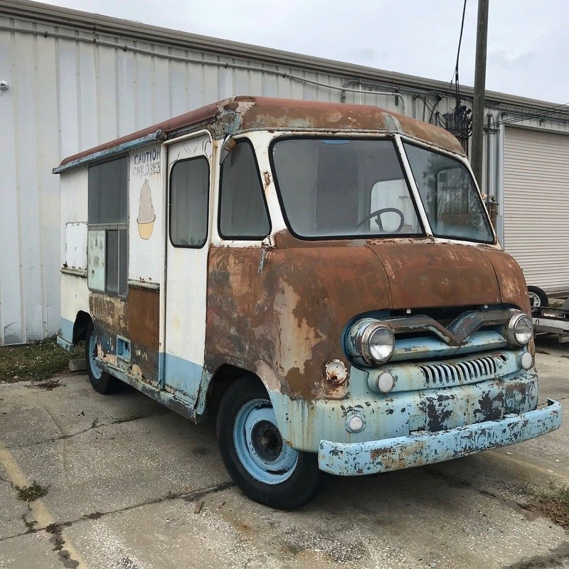 1958 Ford ice cream truck 1813