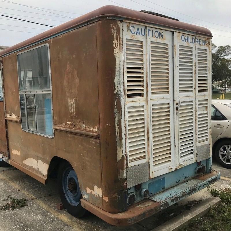 1958 Ford ice cream truck 1913