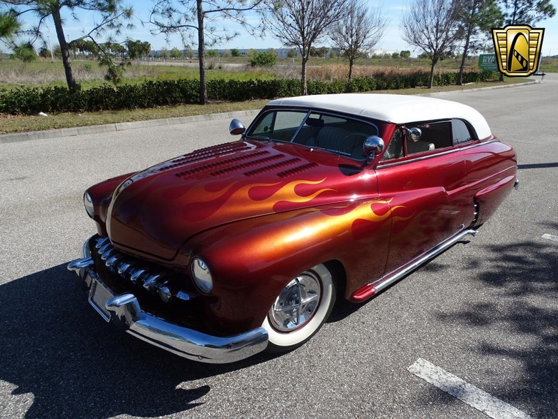 1949 Mercury Custom Convertible - Lost in the fifties 20180322