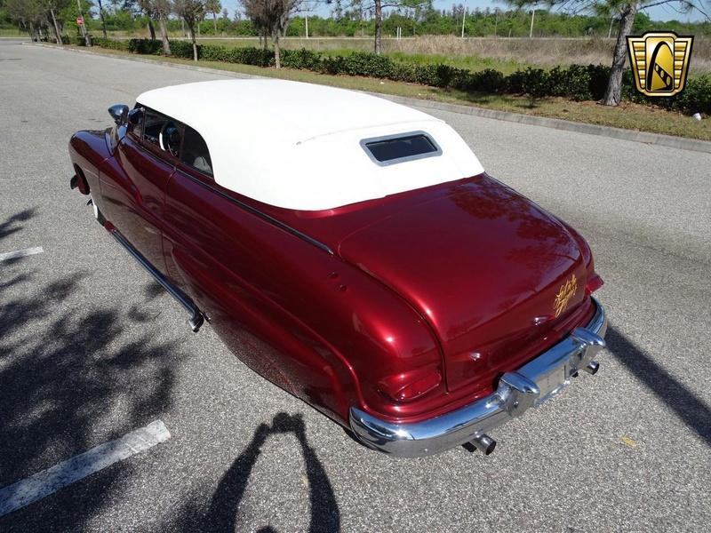 1949 Mercury Custom Convertible - Lost in the fifties 20180331