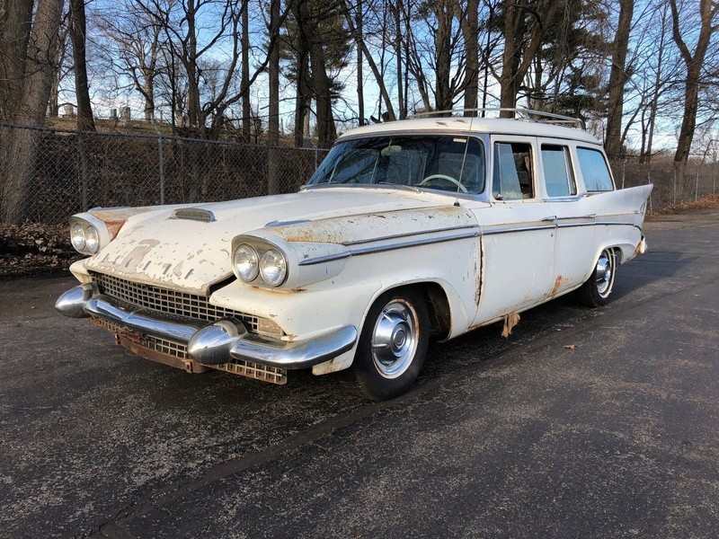 1958 PACKARD STATION WAGON 2116