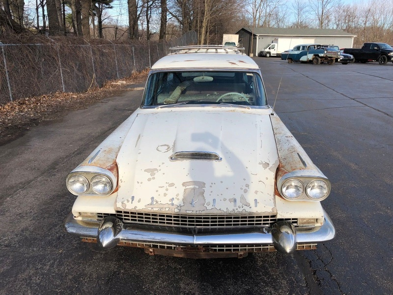 1958 PACKARD STATION WAGON 2713