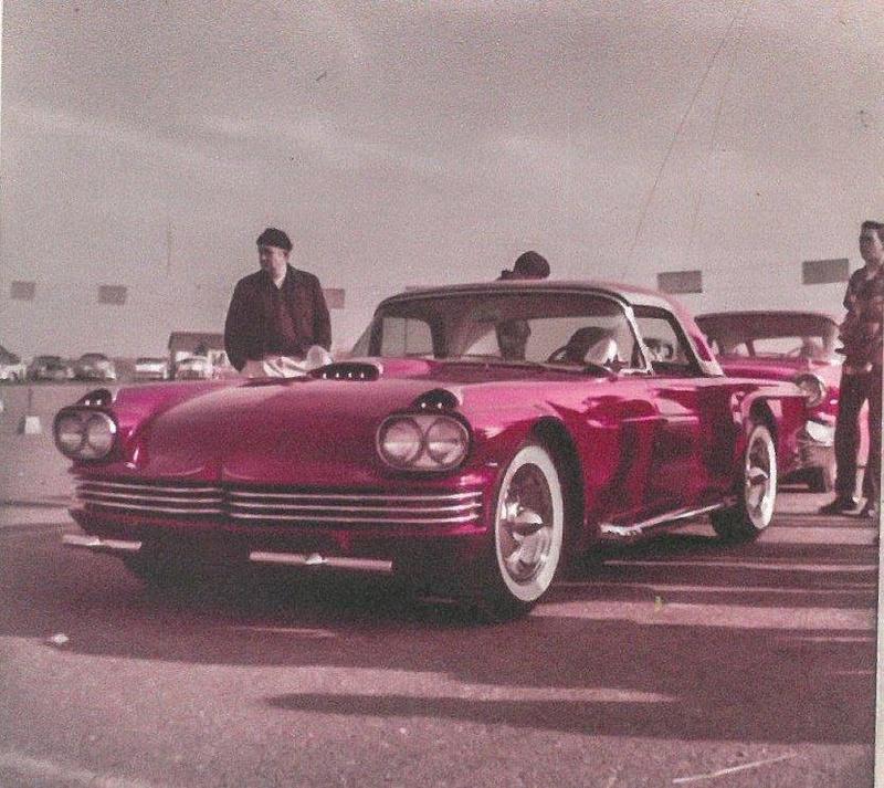 1955 Ford Thunderbird - Candy Bird - Joe Castro -  Joe Bailon 29314210