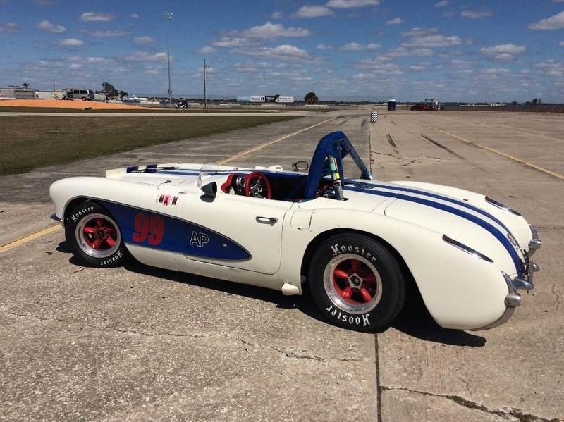 1957 Corvette race car & street car 321