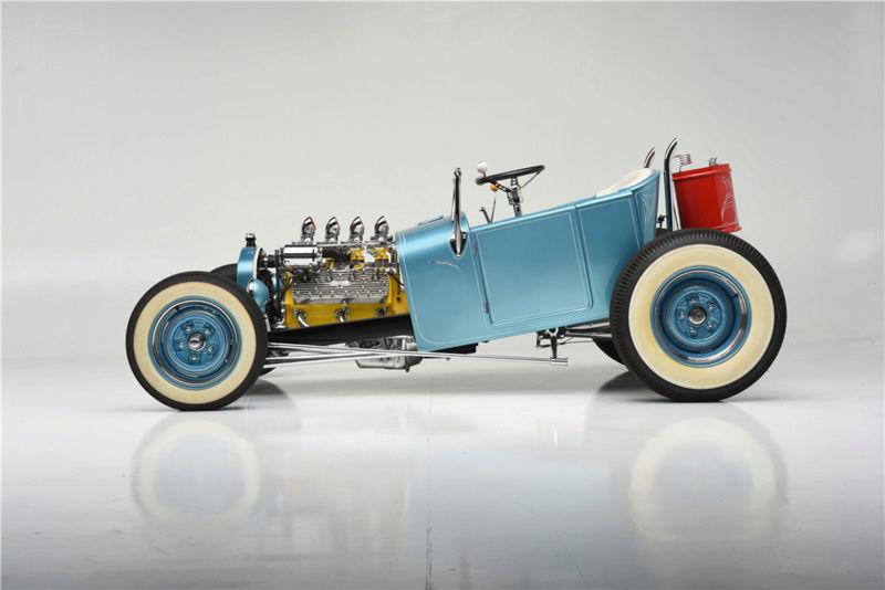 """1926 FORD MODEL T """"MOONSHINER"""" CUSTOM MICKEY HIMSL 423"""