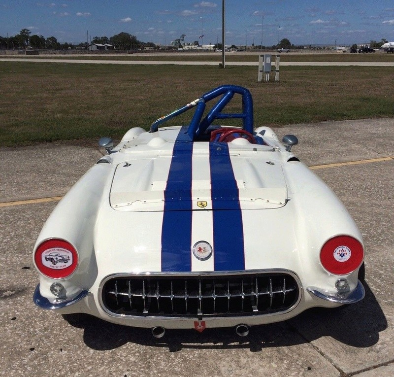 1957 Corvette race car & street car 520