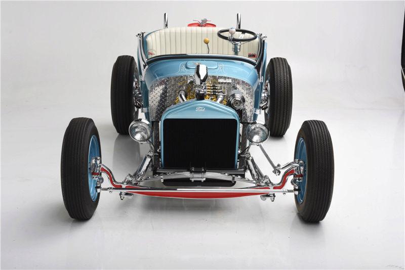 """1926 FORD MODEL T """"MOONSHINER"""" CUSTOM MICKEY HIMSL 523"""