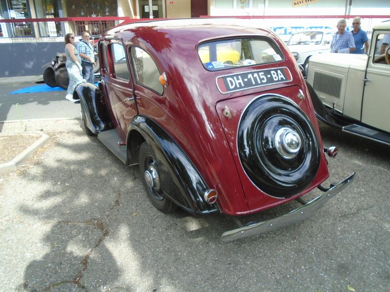 Bourse et concentration & exposition de véhicules anciens et de collection Bazas (33) Juillet 2017 Dsc08182