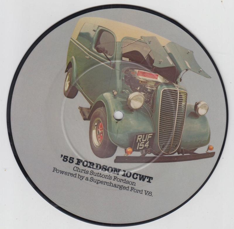 PIcture disc UK Hot rod and Custom car - late 1970 early 1980 Cruisin series Hotrod13