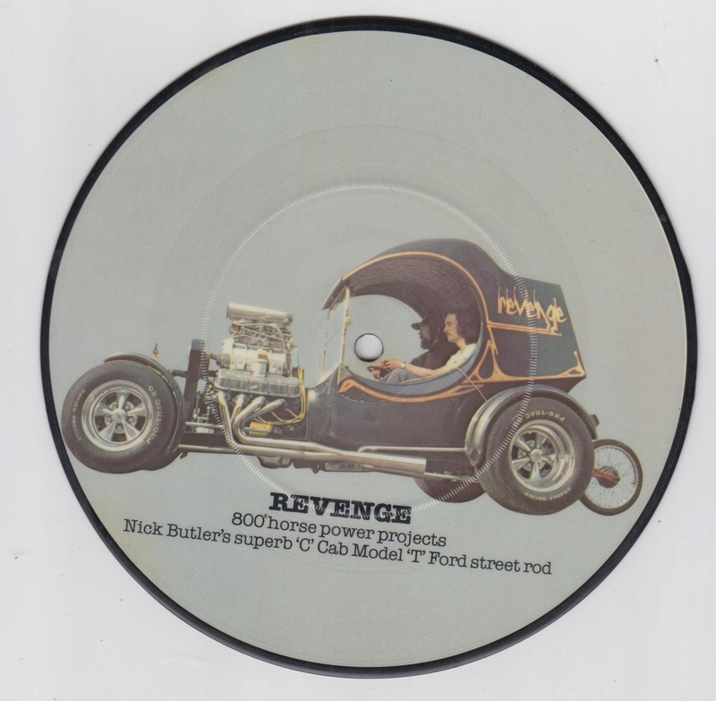 PIcture disc UK Hot rod and Custom car - late 1970 early 1980 Cruisin series Hotrod15