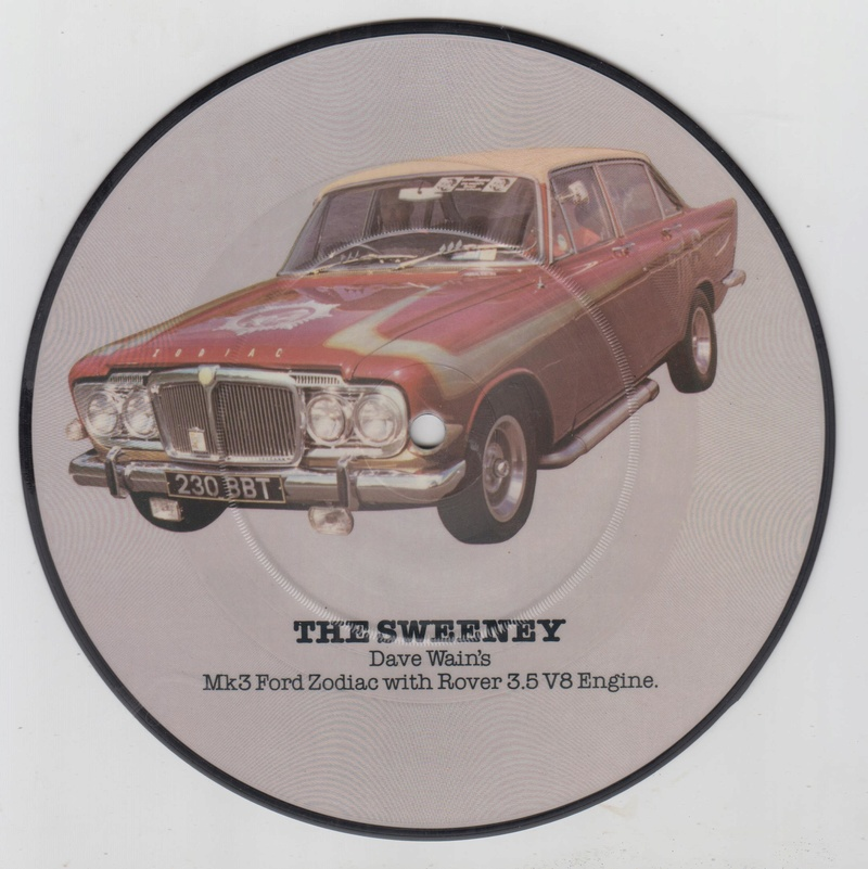 PIcture disc UK Hot rod and Custom car - late 1970 early 1980 Cruisin series Hotrod17