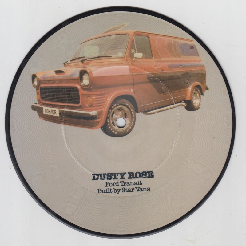 PIcture disc UK Hot rod and Custom car - late 1970 early 1980 Cruisin series Hotrod19