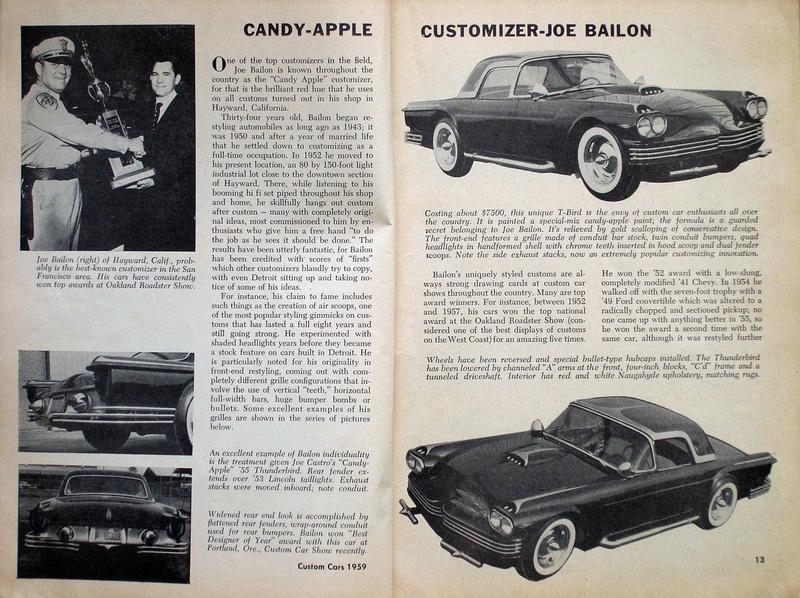 1955 Ford Thunderbird - Candy Bird - Joe Castro -  Joe Bailon P6280011