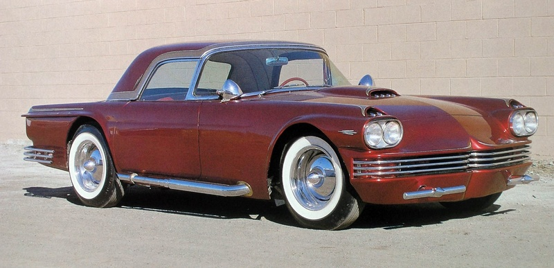 1955 Ford Thunderbird - Candy Bird - Joe Castro -  Joe Bailon Pb050010
