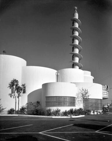 VINTAGE PHOTOGRAPHY ARCHITECTURAL ACADEMY THEATRE INGLEWOOD CALIFORNIA USA