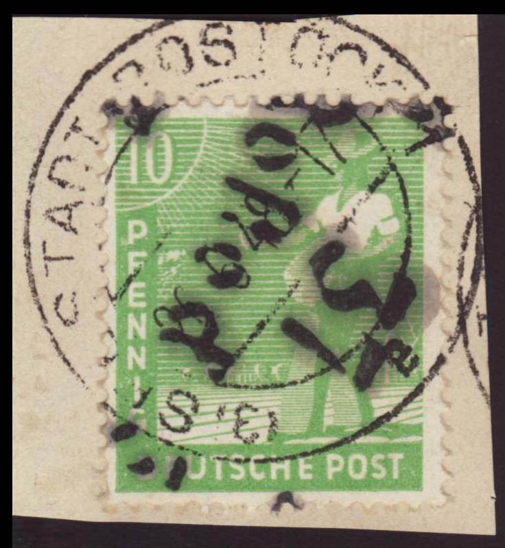 Allgemeine Ausgaben der Sowjetischen Besatzungszone - Seite 4 169vii10