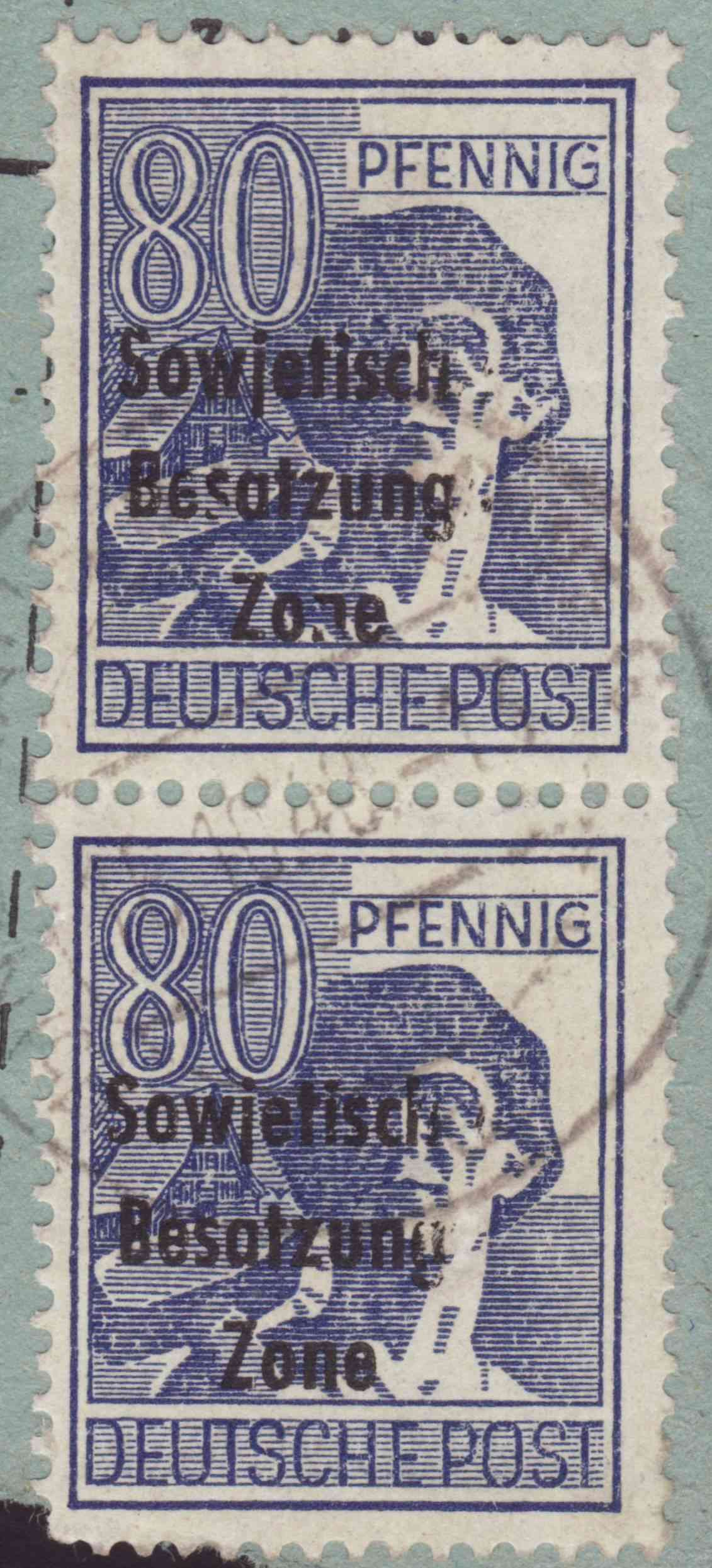 Allgemeine Ausgaben der Sowjetischen Besatzungszone - Seite 4 196x10