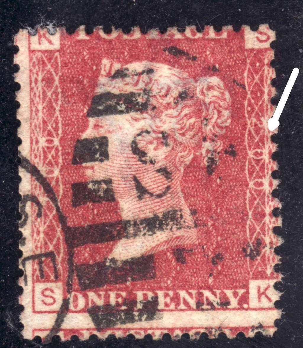 Briefmarken - Briefmarken Platte England Gb110