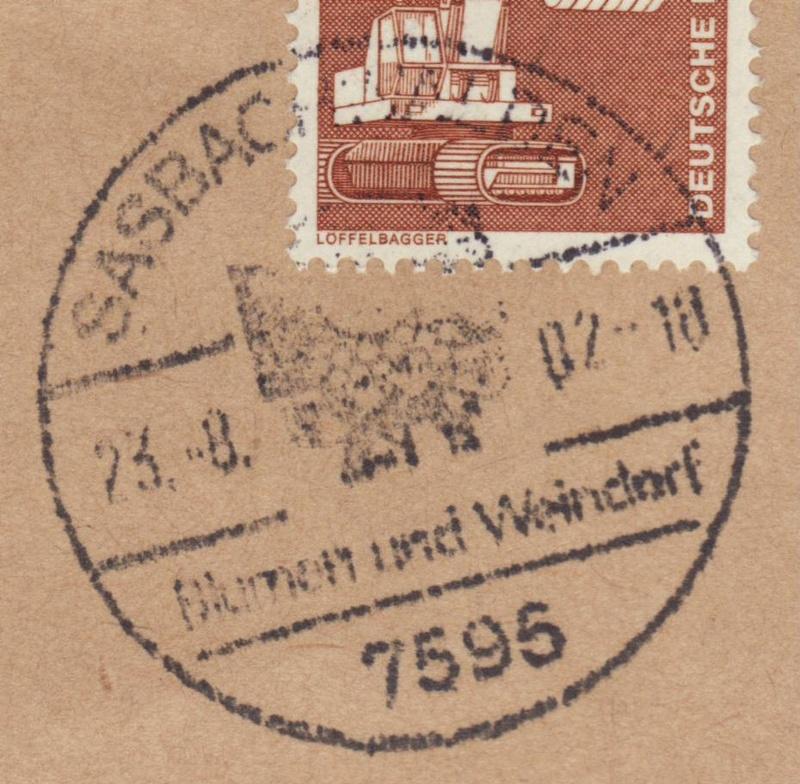 nach - Ortswerbestempel - Deutschland nach 1945 (Handstempel) - Seite 3 Sost110