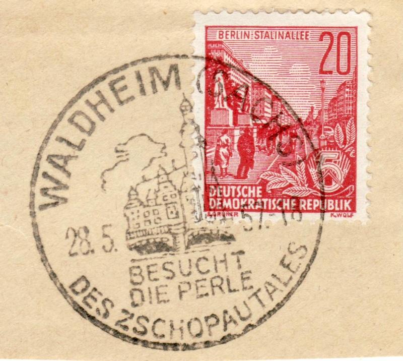 nach - Ortswerbestempel - Deutschland nach 1945 (Handstempel) - Seite 3 Waldhe10