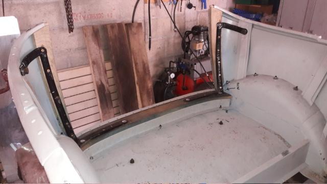 restauration d'une Citroen B10 torpédo commercial de 1923 08-08-10