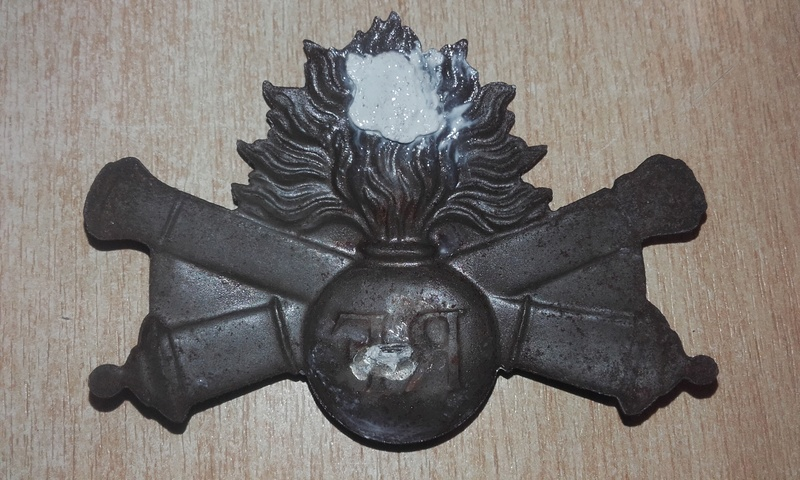 Insigne adrian 15 artillerie 15102512