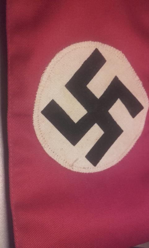 Brassard nazi  15116917