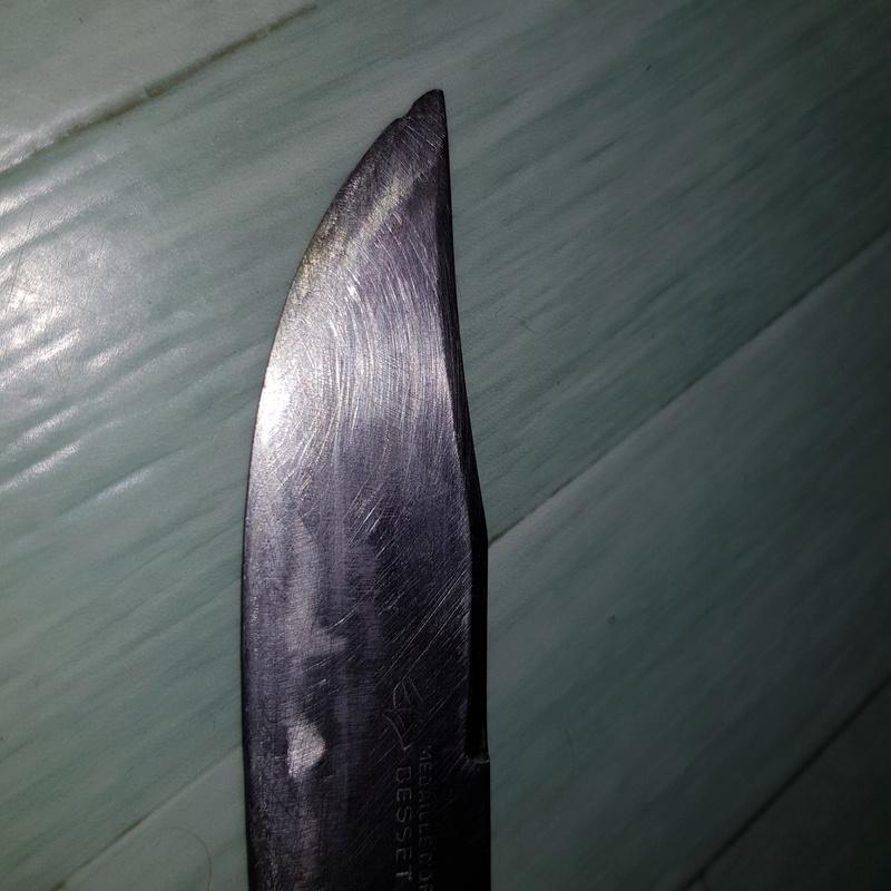 Couteau besset médaille dor 15208813