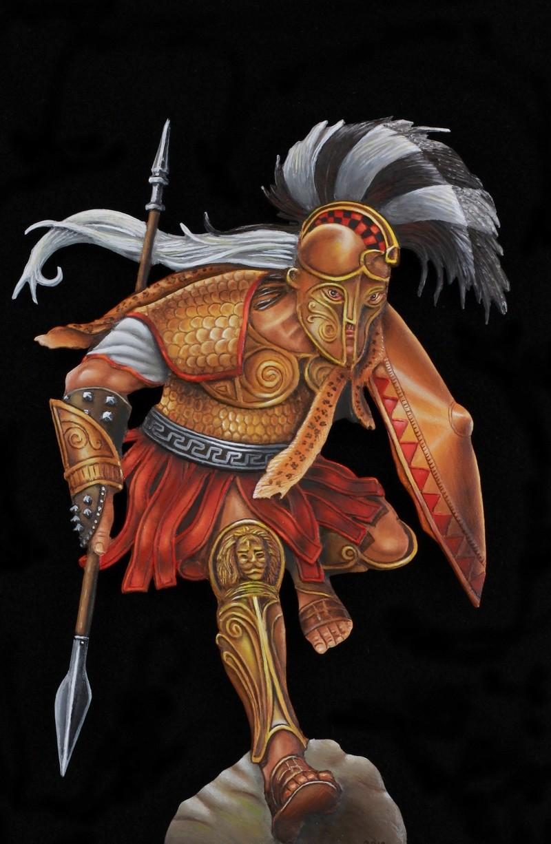 Ares - Dieu de la guerre - par Marco concours de Sèvres 2018 (plat étain) Img_9012