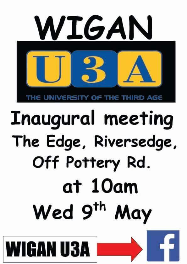 Wigan U3A is launching! 6045d510