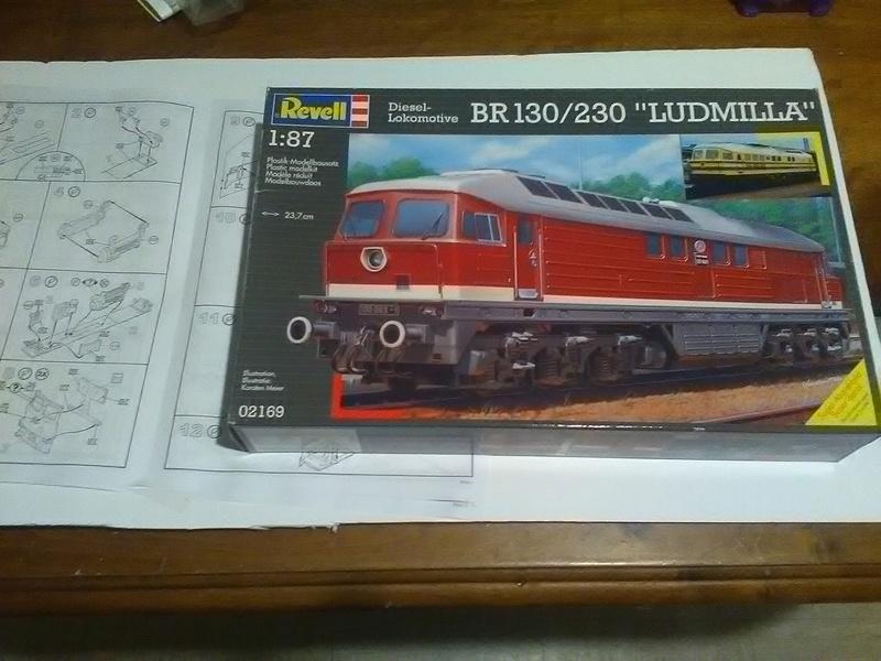 "Locomotive BR 130/230 ""Ludmilla"" HO 1/87 Img_2023"
