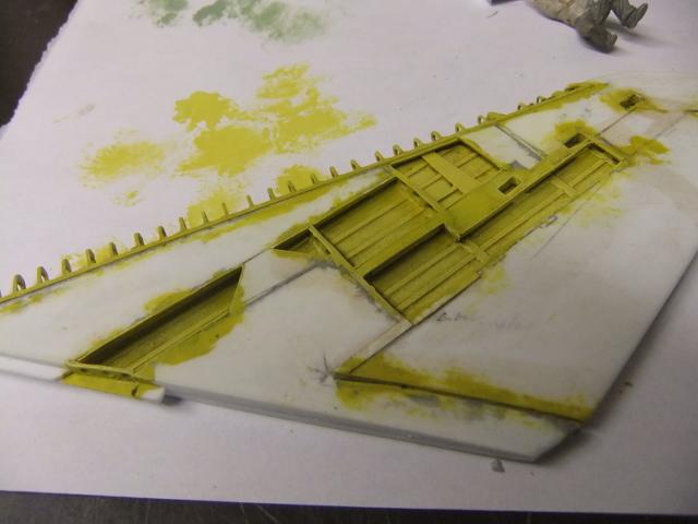 2 x CF-105 ARROW 'd'HOBBYCRAFT 1/48 avec quelque modification +Hanguar FFM+Hanguar de lancement des Bomarc - Page 13 Dscf7124