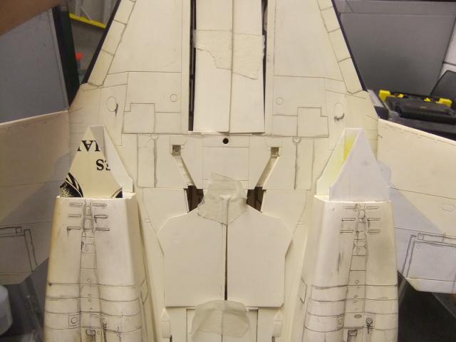 Le ROCKWELL B-1A 'PROTOTYPE ' de REVELL avec quelque modification ! - Page 12 Dscf7153