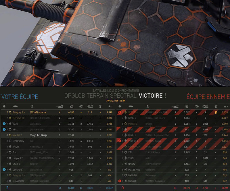 PVP - Rang 7 - Stingray 2 Black Eagle Screen21