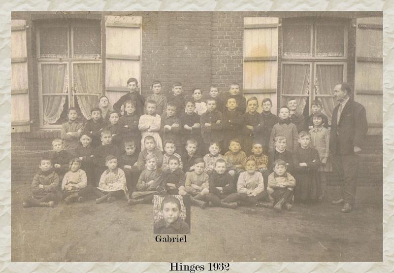 Vieilles photos d'école Hinges10