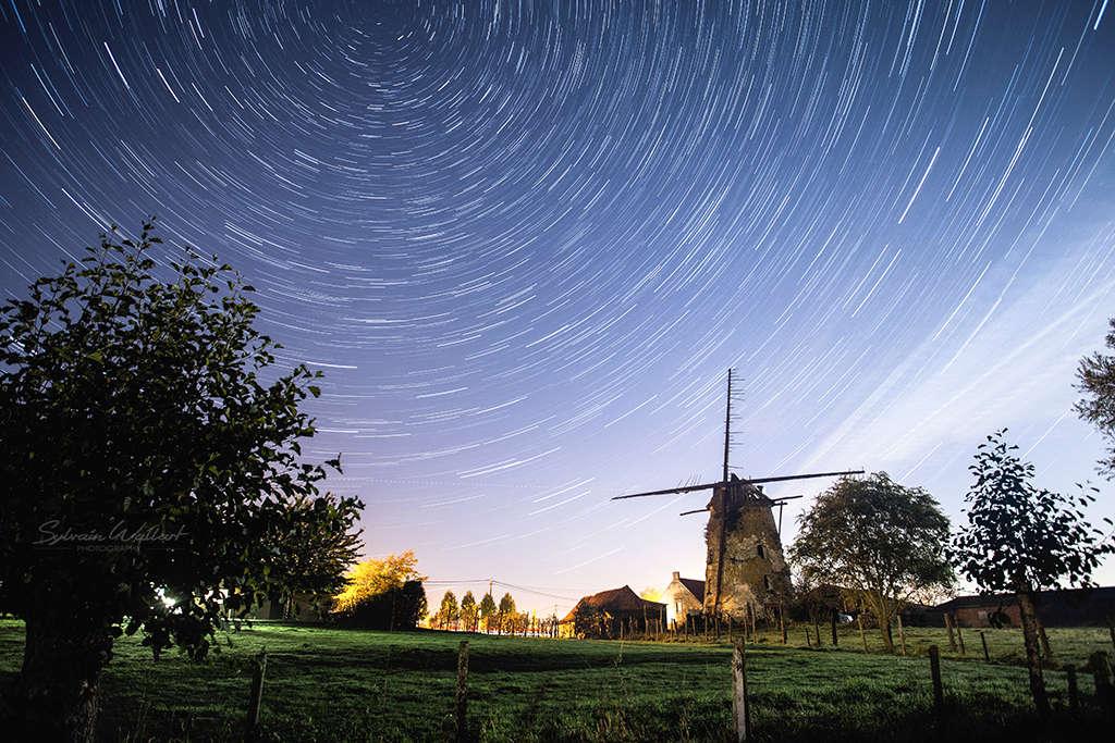 Sortie nocturne autour d'un moulin en ruine Proc_111