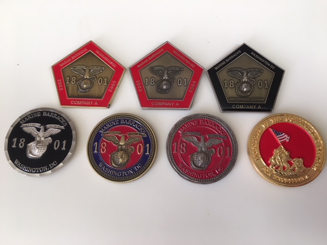 Marine Barracks 8th & I Challenge Coins Img_5018