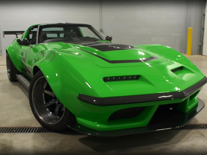"Corvette ""Green Mamba"" ... Une Hot wheels en grand ! 311"