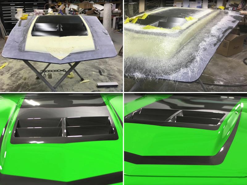 "Corvette ""Green Mamba"" ... Une Hot wheels en grand ! 412"
