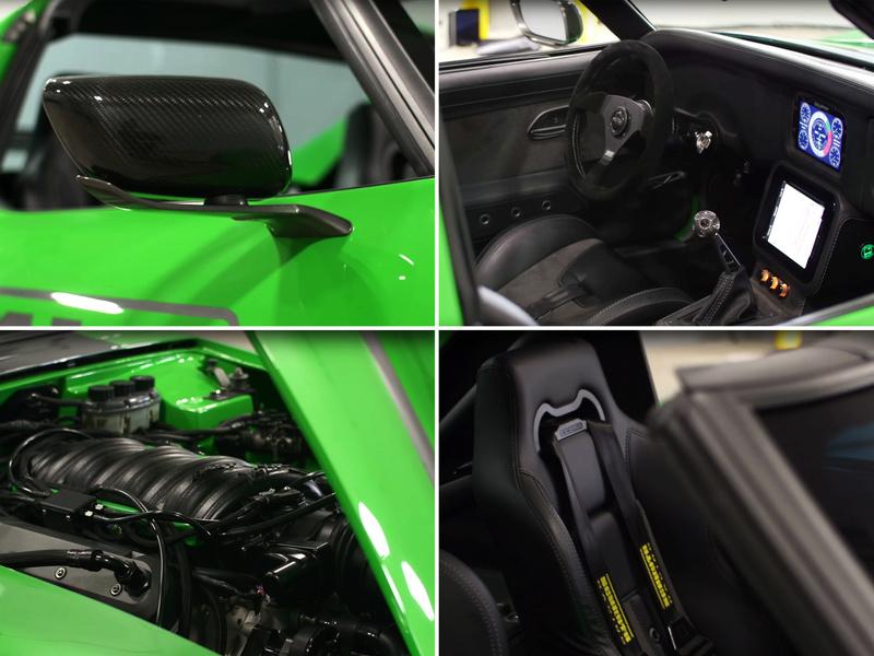 "Corvette ""Green Mamba"" ... Une Hot wheels en grand ! 710"