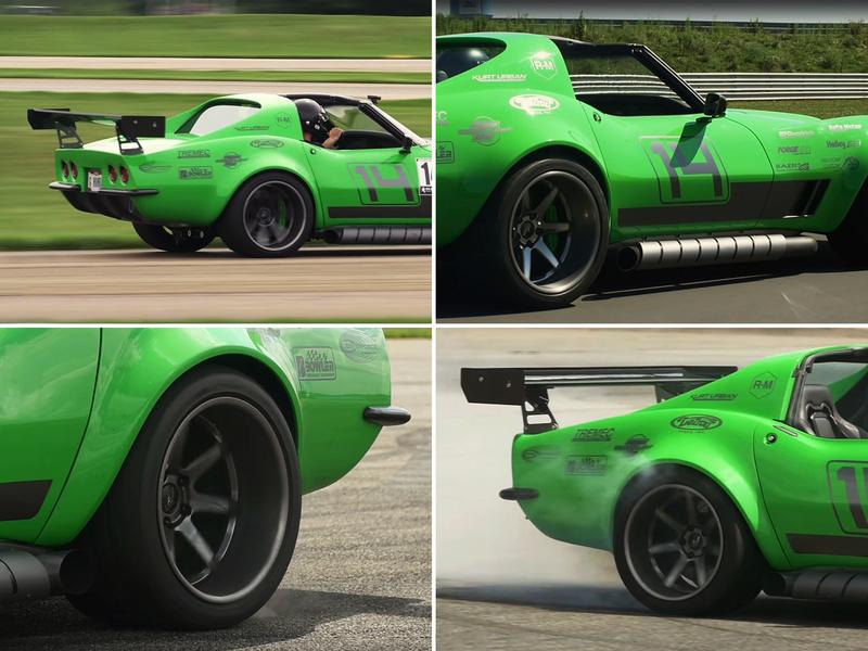 "Corvette ""Green Mamba"" ... Une Hot wheels en grand ! 810"