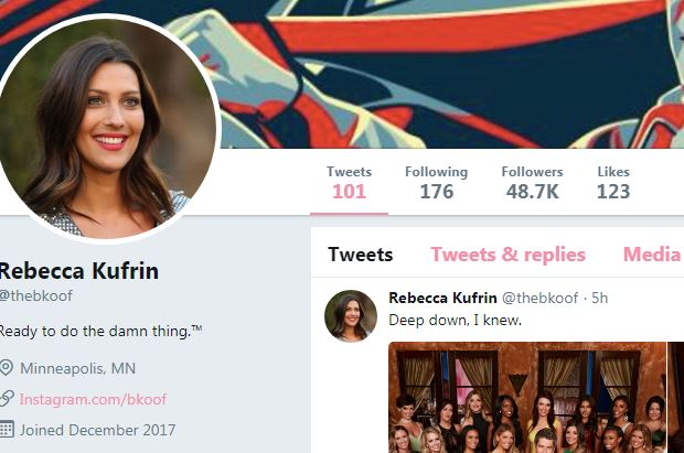 Bachelorette 14 - Becca Kufrin - SM Activity - ALL Contestants- NO Discussion - *Sleuthing Spoilers* Captu103