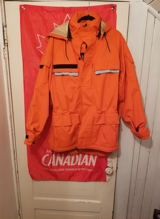 Canadian Forces SAR Army Technician waterproof jacket  29855510
