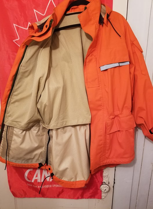 Canadian Forces SAR Army Technician waterproof jacket  30007310