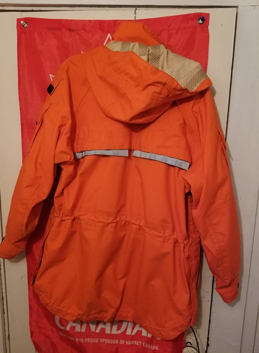 Canadian Forces SAR Army Technician waterproof jacket  30007410