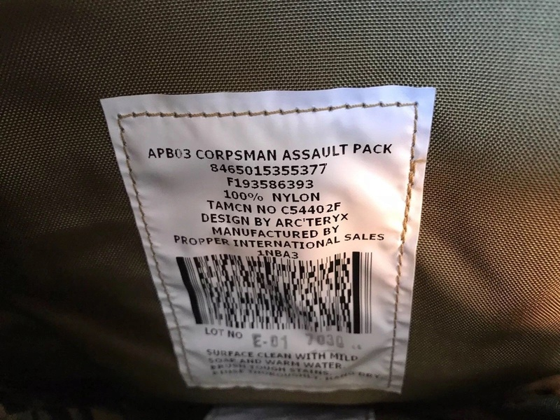 usmc corpsman pack  S-l16010